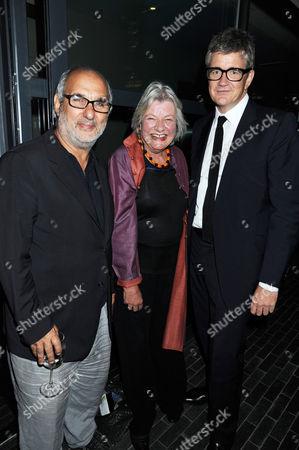 Alan Yentob, Lynn Barber and Jay Jopling