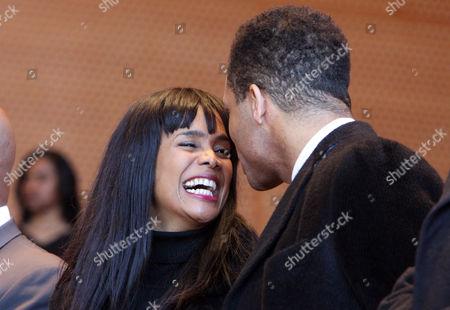 Stock Picture of Alderman Sandi Jackson and husband Congressman Jesse Jackson Junior