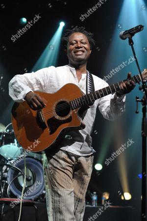 The Congolese singer, Lokua Kanza