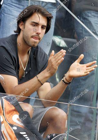 Los Angeles Lakers Basketball player Sasha Vujacic, boyfriend of Maria Sharapova