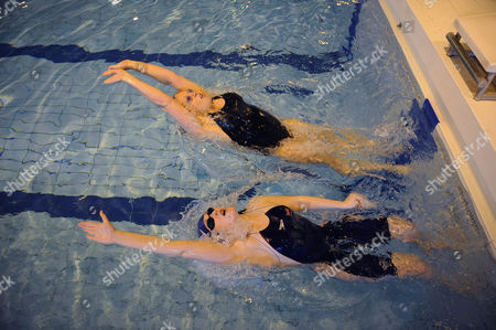 Magnificent 7: Rachael Latham With Gail Emms Aldershot Aquatics Centre
