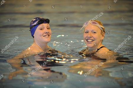 Magnificent 7 : Rachael Latham With Gail Emms Aldershot Aquatics Centre