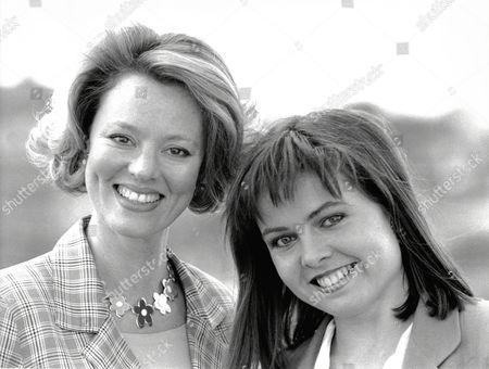 Charlotte Attenborough Daughter Of Sir Richard With Actress Susan Kyd Promoting Tv Show- Making News.