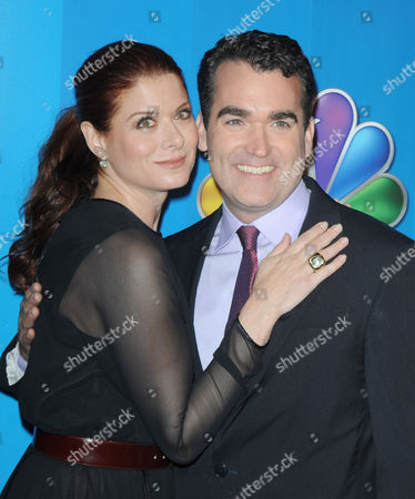 Stock Picture of Debra Messing and Brian d'Arcy James