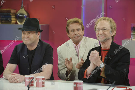 The Monkees - Micky Dolenz, Davy Jones and Peter Tork