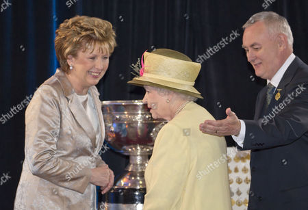 Editorial photo of Queen Elizabeth II State Visit to Dublin, Ireland - 18 May 2011