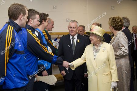Editorial picture of Queen Elizabeth II State Visit to Dublin, Ireland - 18 May 2011