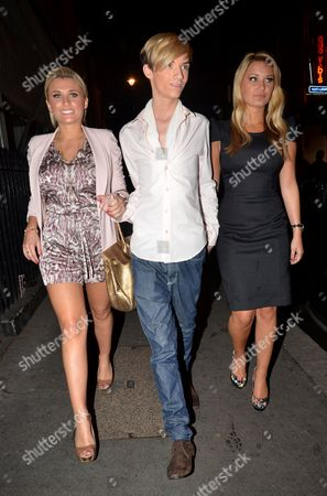 Stock Image of Billy Faiers, Harry Derbidge and Sam Faiers