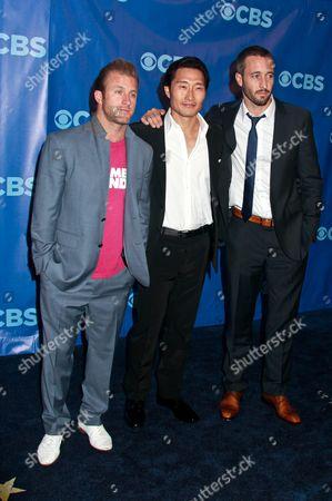 Stock Image of Scott Caan, Daniel Dae Kim and Alex O Loughlin