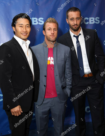 Stock Picture of Daniel Dae Kim, Scott Caan, Alex O Loughlin
