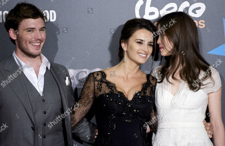 Stock Picture of Samuel Claflin, Penelope Cruz and Astrid Berges-Frisbey
