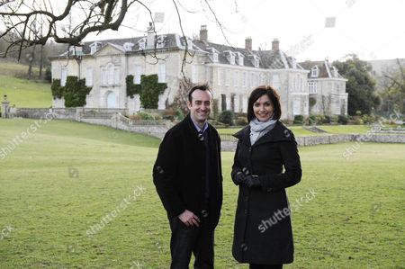 Presenters Nick Barratt and Melissa Porter.