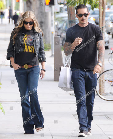 Editorial photo of Carmen Electra shopping in Beverly Hills, Los Angeles, America - 19 May 2011