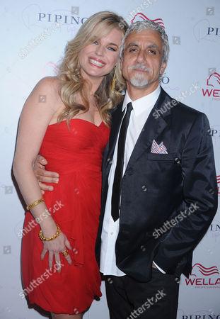 Rebecca Romijn and Ric Pipino