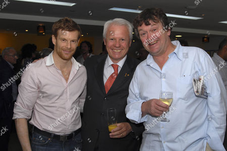 Stock Image of Tom Aikens and Silvano Giraldin from La Gavroche with Rowley Leigh for Le Cafe Anglais