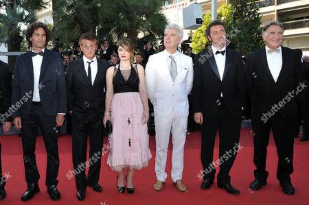 Simon Delaney, Judd Hirsch, Sean Penn, Eve Hewson, Paolo Sorrentino, David Byrne and Liron Levo