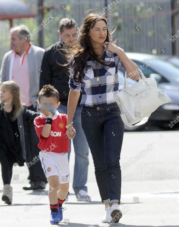 Stacey Giggs with son Zach