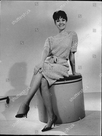 Stock Photo of Sally Bradley - Television Hostess - 1963