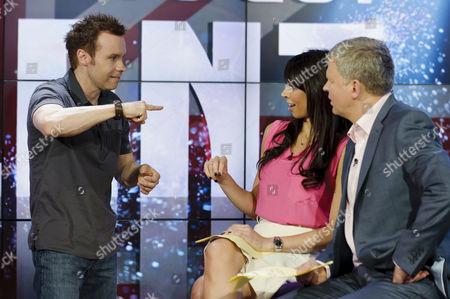 Editorial image of 'Daybreak' TV Programme, London, Britain - 23 May 2011