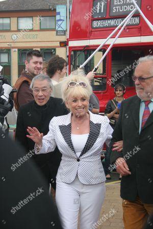Burt Kwouk, Barbara Windsor and Philip Madoc