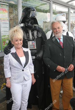 Editorial picture of Barbara Windsor unveils plaque at Elstree and Borehamwood Station - 22 May 2011