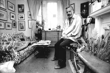 Newsreader Reginald Bosanquet At His Chelsea Home In 1983.
