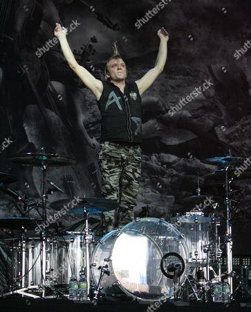 Stock Photo of Mikko Siren of Apocalyptica