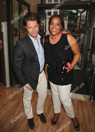 Stock Picture of Nate Berkus, Elaine Griffin