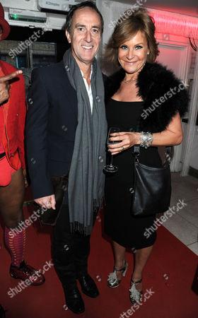 Angus Deayton and Maria McErlane