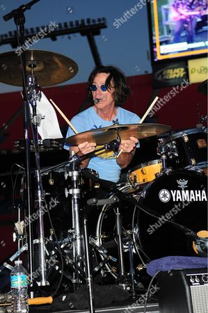 John Cowsill of the Beach Boys performs during the Super Saturday Concert after the game between Florida Marlins Vs. Tampa Bay Rays