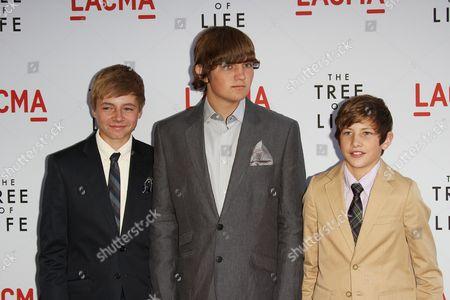 Laramie Eppler, Hunter McCracken and Tye Sheridan