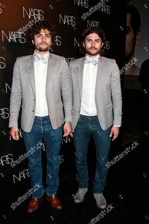Adrian Maselli and Anthony Maselli, DJs