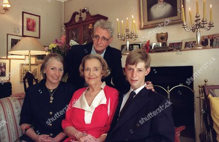 Editorial photo of The Albanian royal family in Johannesburg, South Africa - Dec 1995