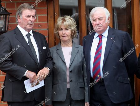 Sir Terry Wogan with Jimmy Tarbuck and wife