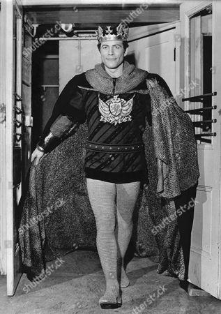Actor Paul Ferris Playing King Arthur.