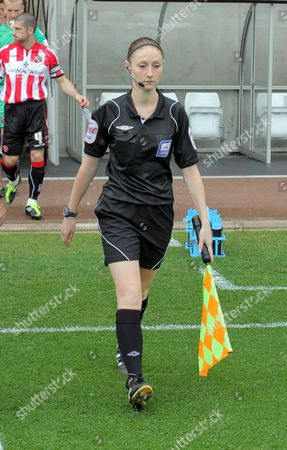 Assistant referee, Sian Massey