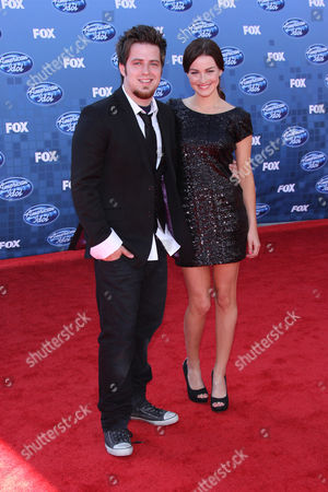 Stock Image of Lee DeWyze and Jonna Walsh