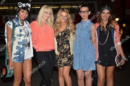 Parade - Lauren Deegan, Jessica Agombar, Emily Biggs, Bianca Claxton and Sian Charlesworth
