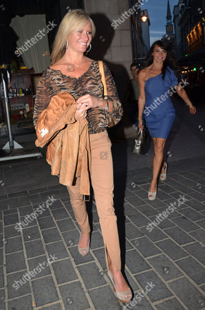 Alex Best and Lizzie Cundy