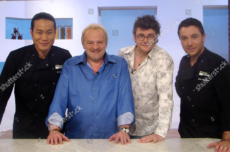 Jun Tanaka,  Antony Worrall Thompson,  Joe Pasquale and Gina D'Acampo