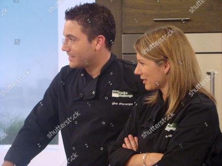 Gino D'Acampo and Maria Elia