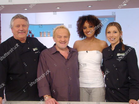 Brian Turner, Antony Worrall Thompson, Tupele Dorgu and Jo Pratt