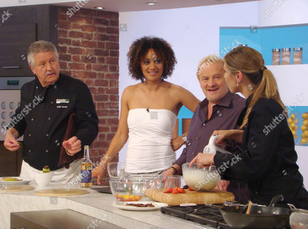 Brian Turner, Tupele Dorgu, Antony Worrall Thompson and Jo Pratt