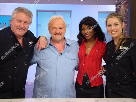 Brian Turner, Antony Worrall Thompson, Sinitta and Jo Pratt