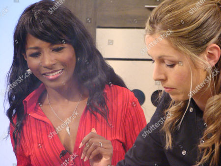 Sinitta and Jo Pratt