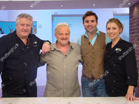 Brian Turner, Antony Worrall Thompson, Stuart Manning and Jo Pratt