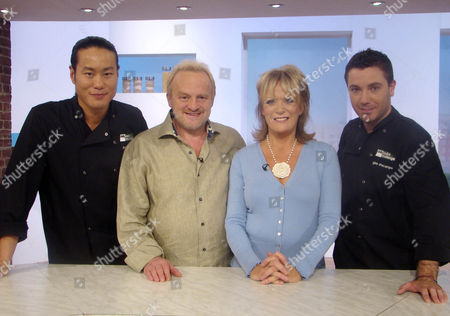 Jun Tanaka, Antony Worrall Thompson, Sherrie Hewson and Gino D'Acampo
