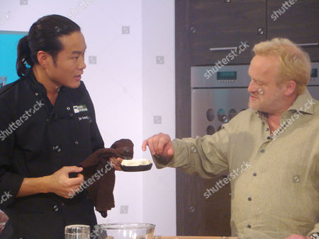 Jun Tanaka and Antony Worrall Thompson