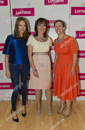Editorial photo of 'Lorraine Live' TV Programme, London, Britain - 26 May 2011
