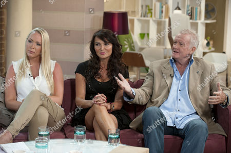 Leigh Marlee, Lizzie Cundy and Rodney Marsh